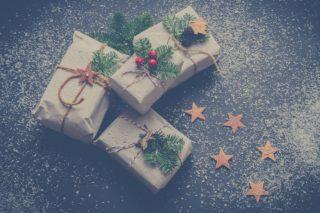 Flot indpakkede julegaver